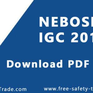 NEBOSH IGC PDF Download